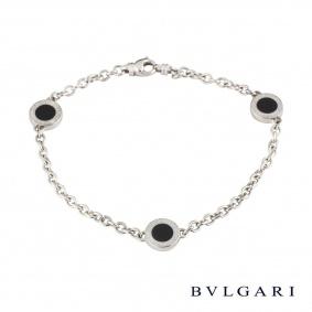 Bvlgari BvlgariWhite Gold and Onyx Bracelet
